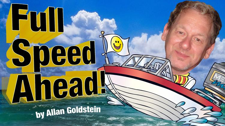 Full Speed Ahead by Allan Goldstein