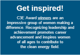 C3E Award winners are an impressive group of women making a difference.