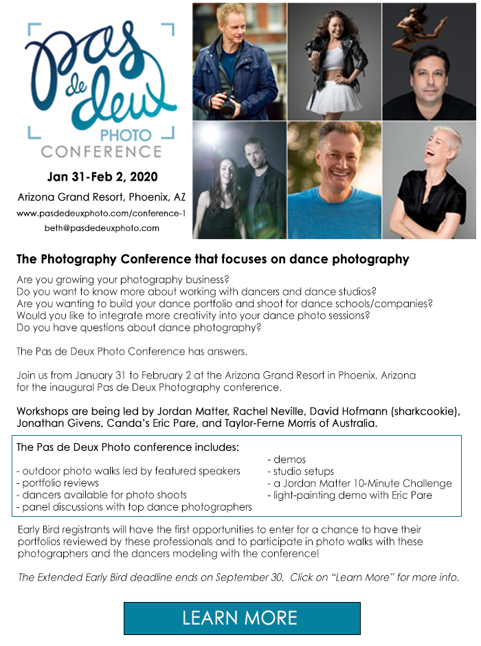 The Photography Conference Focusing on Dance Photography