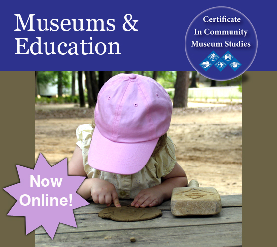 Museums & Education Online Ad