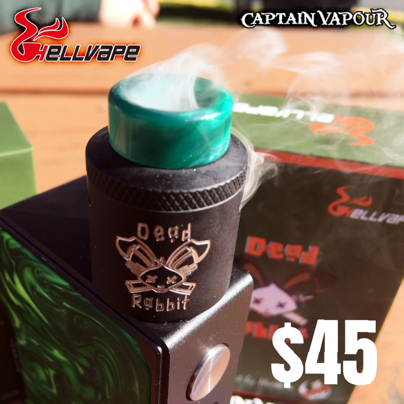 The One and Only Hellvape Dead Rabbit Dual Coil RDA