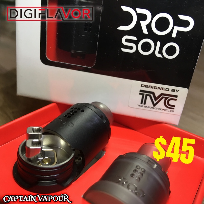 NEW: The 10/10 reviewed Digiflavor DROP Solo Single Coil RDA