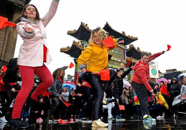 Photo of CNY flashmob 2012