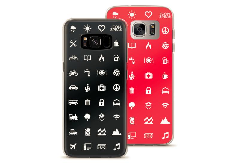iconspeak samsung phone case