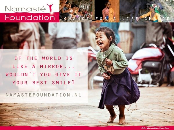 Namasté Foundation - Chance for a life Change