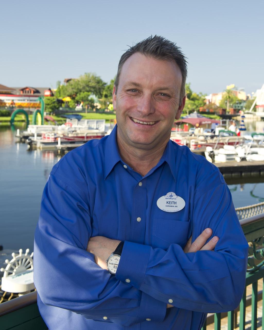 Keith Bradford, WOCC Chairman