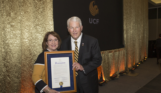 President John Hitt celebrates 25th Anniversary