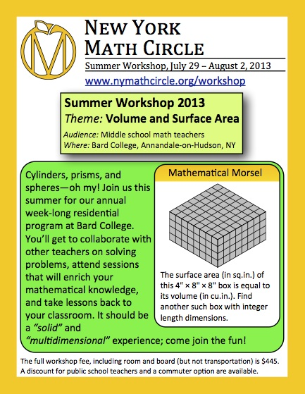 NYMC Summer Workshop