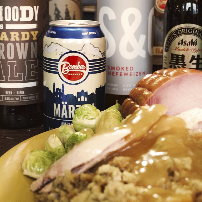 Marzen and Turkey Dinner