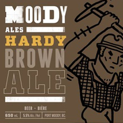 Moody Hardy Brown Ale
