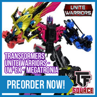 TFsource News! UW Megatronia, Titans Return, CW Groove, Masterpiece, GT01E Dump Truck & More!