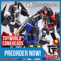 TFsource News! DX9, ToyWorld Coneheads, Titans Return & MakeToys Restock & More!
