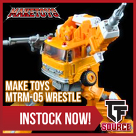 Transformers News: TFsource News! MP-35 Masterpiece Grapple, Legends Astrotrain, Rioter Despotron, Titanika & More!