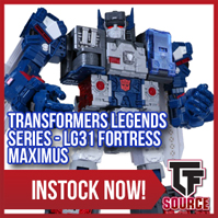 TFsource News! Countdown to Black Friday - Day 1: Titans Return Fortress Maximus $99.99, More