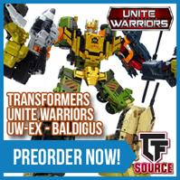 Transformers News: TFsource News! MP-36 Megatron, Masterpiece Reissues, FP Trianix Alpha, Shuraking Hammmer & More!
