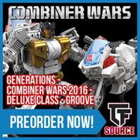 Transformers News: TFsource News! UW Megatronia, Titans Return, CW Groove, Masterpiece, GT01E Dump Truck & More!