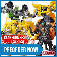 Transformers News: TFSource News! MP-10 Convoy Golden Lagoon, MP-17+, Studio Series, UT Challenger, Magic Square & More
