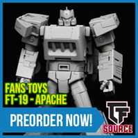 TFsource News! Fanstoys Apache, Japanese Movie Reissues, MP-14+ restock, gx-72 Megazord & More!