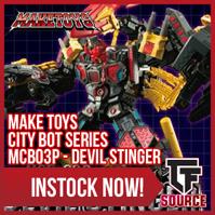 Transformers News: TFsource News! MP-29 Sunstreaker, FT Phoenix, MT Striker Noir, BC Brawny/Backland & Titans Return!