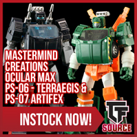 Transformers News: TFsource News! FP Comera/Echara, Badcube Slick, ThreeA G1 Prime, Artifex, Kultur, Downbeat & More!