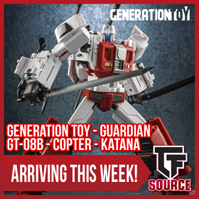 Transformers News: TFSource News! FT-29 Quietus, XT Savant, PotP Abominus, ZT Silver Arrow, GT Katana & More!