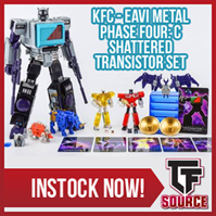 Transformers News: TFsource News! Masterpiece Loudpedal, Shockwave with Megatron Gun, GT J4ZZ, CW Victorion & More!