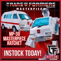 TFsource SourceNews! MP-30 Ratchet, RMX-01 Jaguar, Machine Robo, Spring Sale & More!