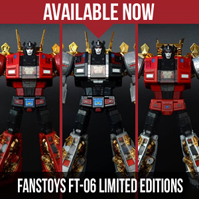 Transformers News: TFsource SourceNews! St. Patrick's Day Sale, CW G2 Menasor, Doombringers, LE Sever & More!