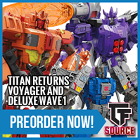 TFsource News - Titans Return, Masterpiece, UW Lynx Master, BadCube Sunsurge, KFC & More!