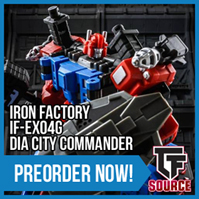 Transformers News: TFsource News! MP-14C Clampdown - Only $65 - This Weekend Only! UW Lynx Master, KFC & More!
