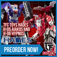 Transformers News: TFsource News! 2016 Botcon Sets, Make Toys Vulcan, TFC Hades, DX9, GCreations, FanToys Stomp & More!