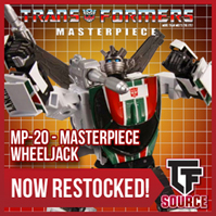 TFsource News! Masterpiece, Titan Returns Titan Masters, BadCube Wardog, Grassor & More!