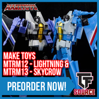 Transformers News: TFSource News! Unique Toys Ragnaros Combiner, Make Toys Seekers, Fans Toys, FP Beastructor & More!