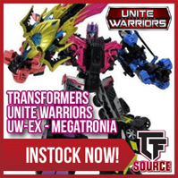 Transformers News: TFsource News! Sovereign, Downbeat, MP Skywarp, Calidus, Deathclaw, Megatooth & More!