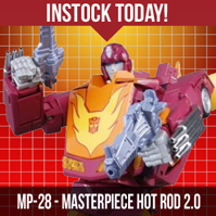 TFsource SourceNews! MP-28 Masterpiece Hot Rod 2.0 Instock Today!