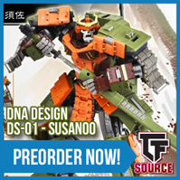 TFsource News! DNA Susanoo, Rioter Despotron, Tyrantron, Sunsurge, Scoria, Winter Sale & More!