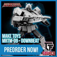 Transformers News: TFsource SourceNews! Cyber Monday Sale! MP-31 Delta Magnus - Only $129.99! Save $60!