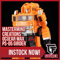 Transformers News: TFsource News! Unique Toys Allen, MMC Girder, UW Baldigus, Saltus, DX9, ToyWorld Coneheads & More!