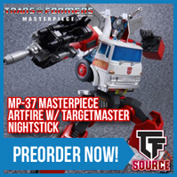 TFsource News! MP-37 Artfire, LG42 Godbomber, MP-33 Inferno, TFC Trinity Force, & MT Devil Stinger!