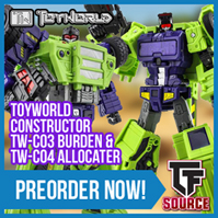 Transformers News: TFsource News! Forager, MP-27 w/ Drill, Dewalt, Sworder, Ditka, TW Constructor and More!