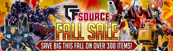 Transformers News: TFsource News! Make Toys Despotron, TR Soundwave, Fanstoys, TFsource Fall Sale & More!