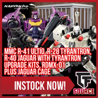 Transformers News: TFSource News - FT Roadking, Siege Astrotrain, Furai Drift, MMC Tyrantron, Jaguar, Ultio and More!