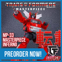 TFsource News! Masterpiece Inferno, Titans Return, Fans Toys, DX9 Gewalt, ToyWorld & More!