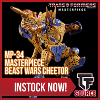 TFsource News! MP-34 Cheetor, MP-35 Grapple, FT Grinder, MT Contactshot, LG43 Trypticon & More!