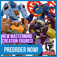 Transformers News: TFsource News! CW Groove, Masterpiece, MMC, FansToys Soar Restock and Limited Colors & More!