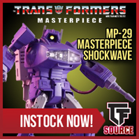 TFsource SourceNews! MP-29 Shockwave, Liger, Arkose, TW Shovel and Concrete & More!