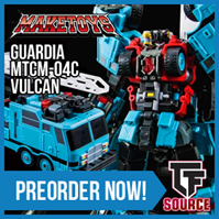 TFsource News! Make Toys Vulcan, TFC Hades, DX9, GCreations, FanToys Stomp & More!