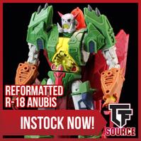 Transformers News: TFsource News! Rioter Despotron, Terraegis, Roadcrane, Anubis, Master Builder, Winter Sale & More!