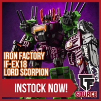 Transformers News: TFsource News! MP-37 Artfire, LG42 Godbomber, MP-33 Inferno, Iron Factory, X-transbots & Toyworld!
