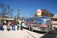 Food Truck with Rotating Cupcake